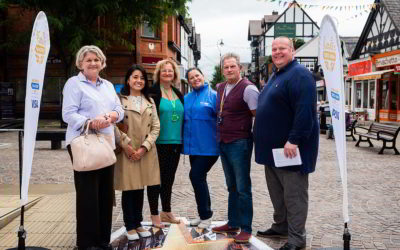 Judges from the Great British High Street awards visit Northwich