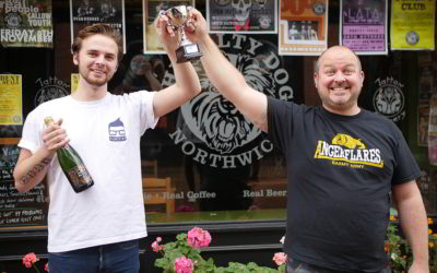 Northwich In Bloom competition winners receive prizes