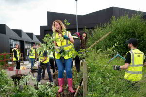 Clean-up team in Northwich