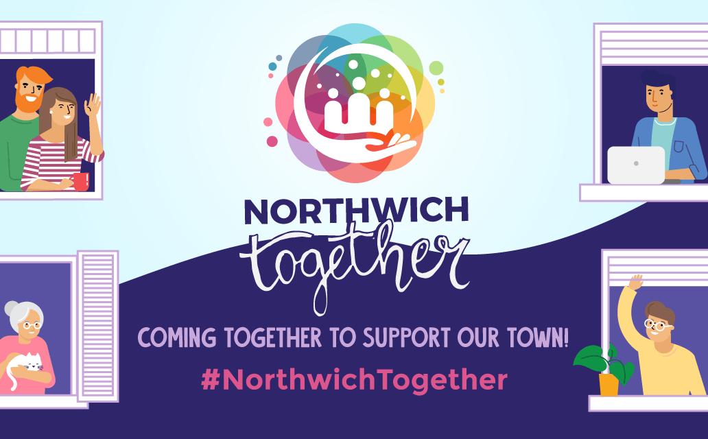 Northwich businesses say thank you in campaign video